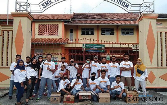 SMK Muhammadiyah 2 Jatinom Rayakan Kelulusan