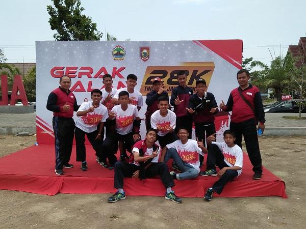 Juara Gerak Jalan 28K Tingkat Kabupaten