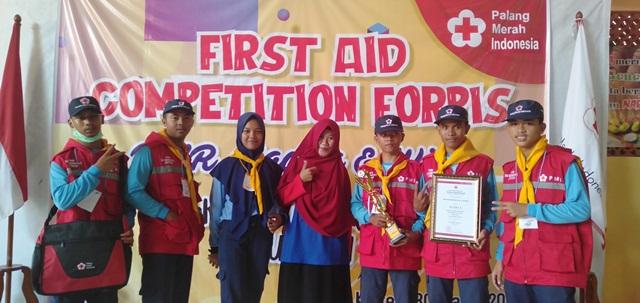 Semarakkan Jumbara PMI, SMK Muhammadiyah 2 Jatinom Raih Runer Up