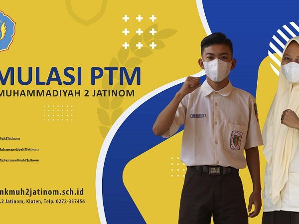 Simulasi PTM SMK Muhammadiyah 2 Jatinom